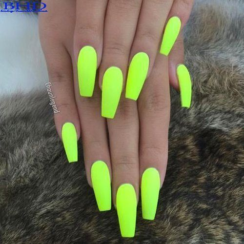Top 22 Neonnagellacke 2019 Accessoirefemme Neon Nails Neon Nail