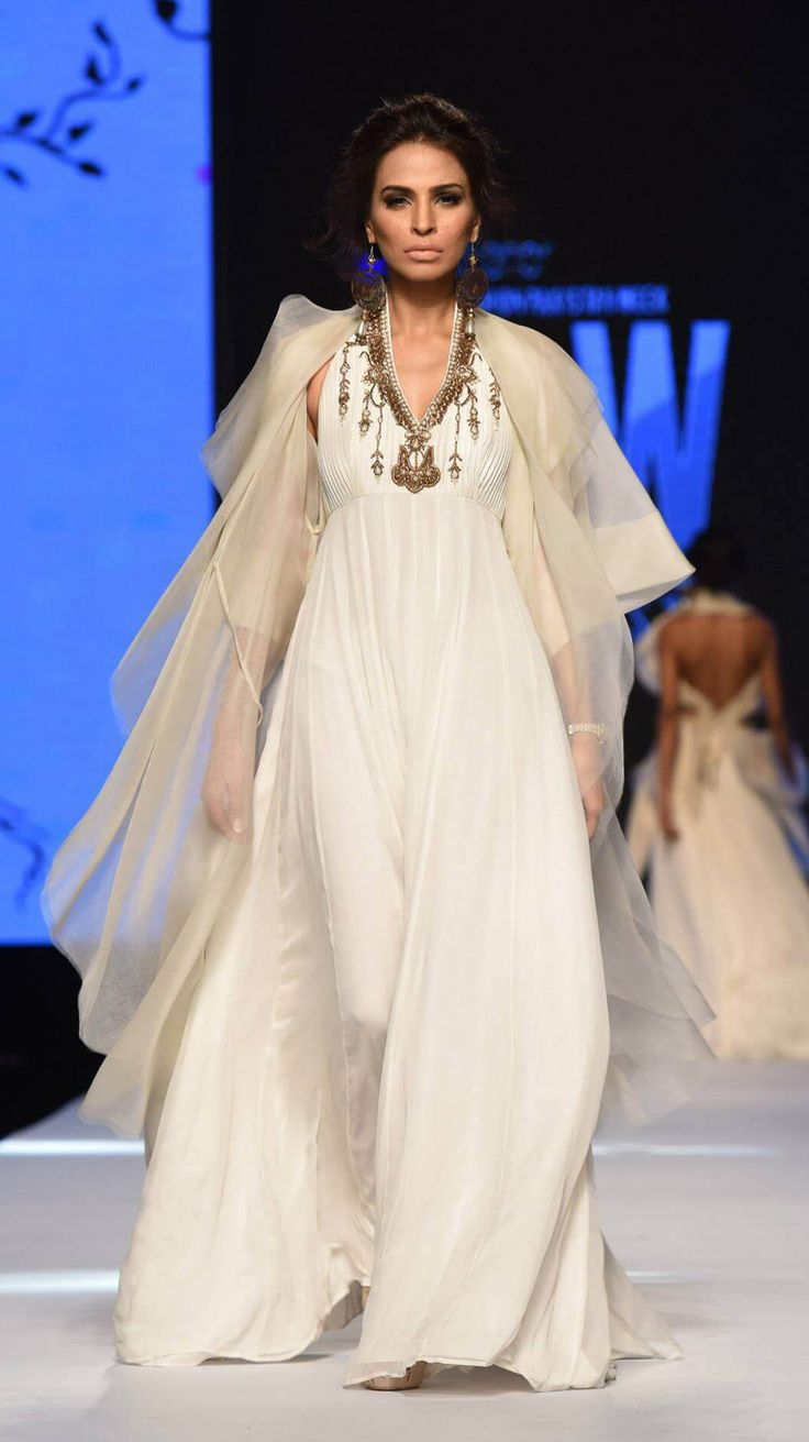 Zaheer Abbas showcased his spring/summer '15 collection titled Primavera at day 02 of Telenor Fashion Pakistan Week