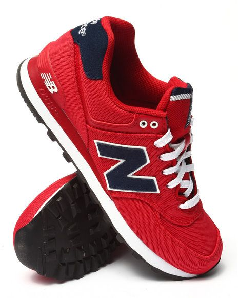 red new balance 574 mens