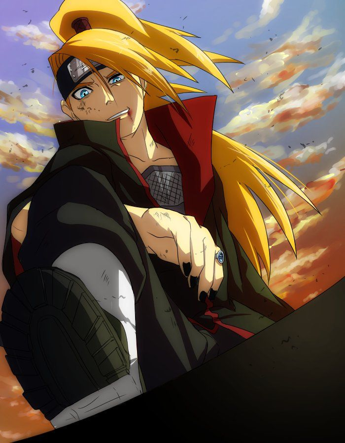 #Deidara #Naruto #Akatsuki