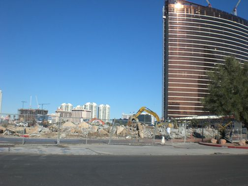 The new owners spent over $35 million an acre for the vacant 34 acres of old Frontier site on the Las Vegas Strip to build the new The Las Vegas Plaza. It will be a $5 to $8 billion dollar multi-use ultra-luxury hotel, private residences, retail and gaming complex next to  Trump Tower on the strip.