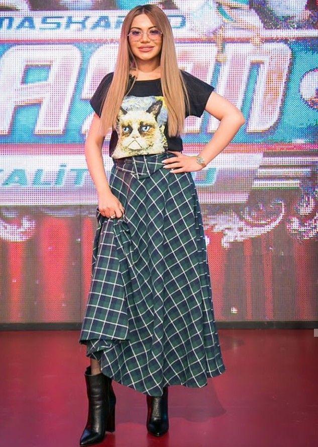 Turkan Velizade Fashion Skirts Maxi Skirt