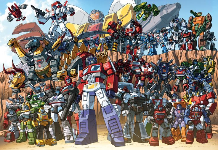 Autobots 85 groupshot by Dan-the-artguy.deviantart.com on @deviantART