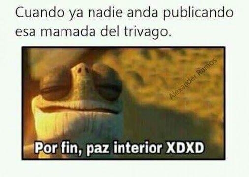 Por fin ya se olvidaron del meme de Trivago xd Para más imágenes graciosas visita: https://www.Huevadas.net #meme #humor #chistes #viral #amor #huevadasnet