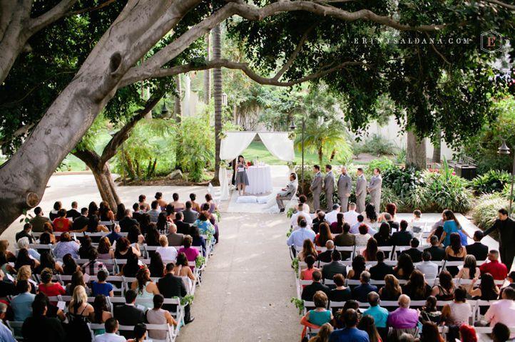 Los Angeles River Center And Gardens Wedding Eduardo Erin J Saldana Photography