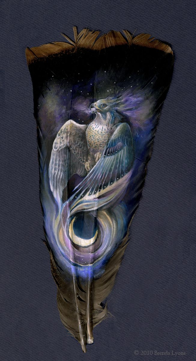 Paintings On Old Turkey Feathers. This Artist Made What Is Beautiful Even More Beautiful   flipopular