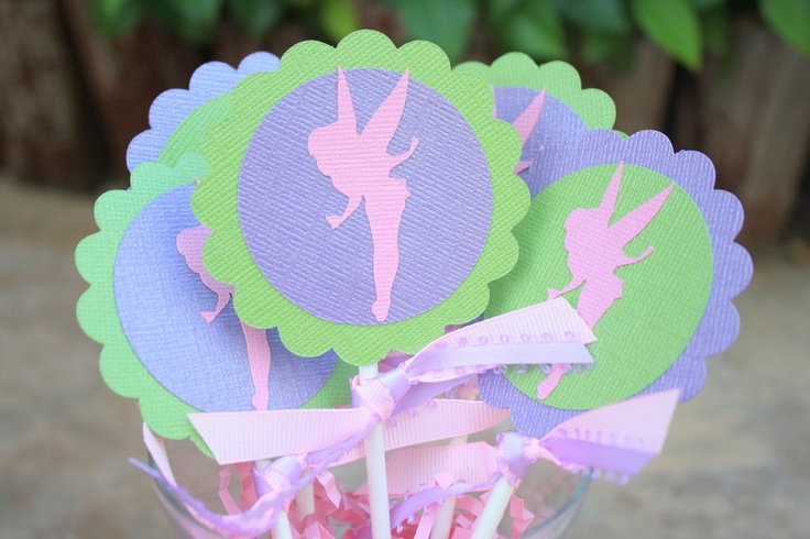 Tinkerbell party centerpiece