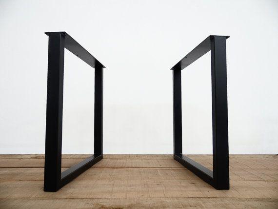 les 9 meilleures images du tableau pieds de bureau sur pinterest pied de bureau acier et bureaux. Black Bedroom Furniture Sets. Home Design Ideas
