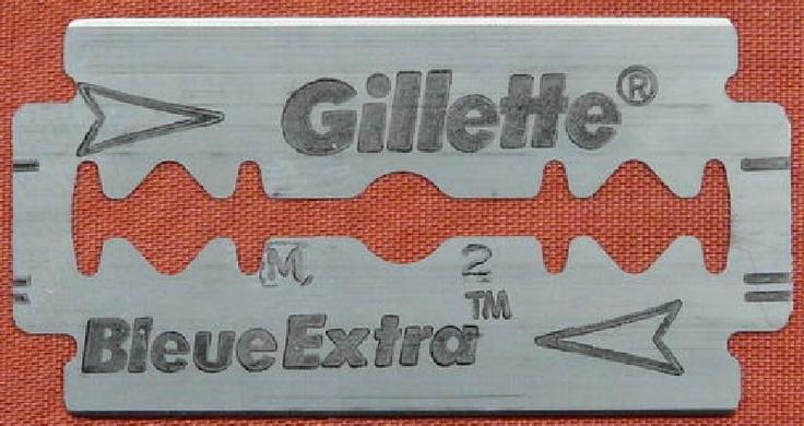 Gillette Bleue Extra eu fazia a sobrancelha com ela, imagine!