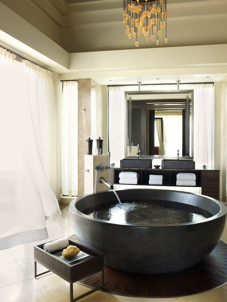 experience bubbles of bliss at four seasons resort mauritius at anahita with new luxury bath rituals presidential suite bathroom - Beaded Inset Hotel Decoration
