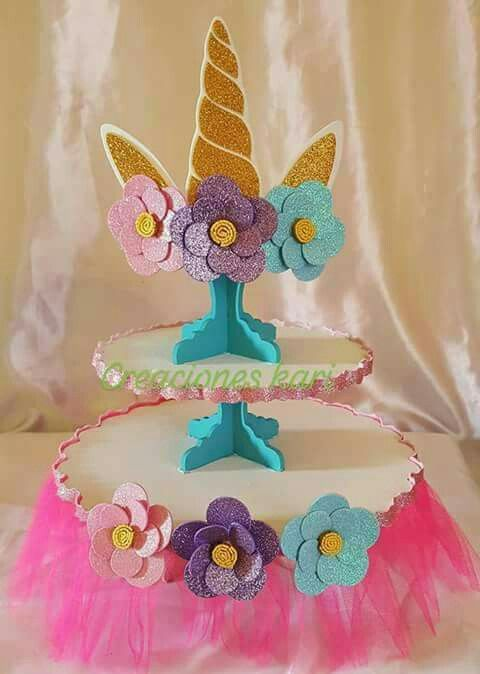 Manualidades Fiesta De Unicornio Unicorn Birthday