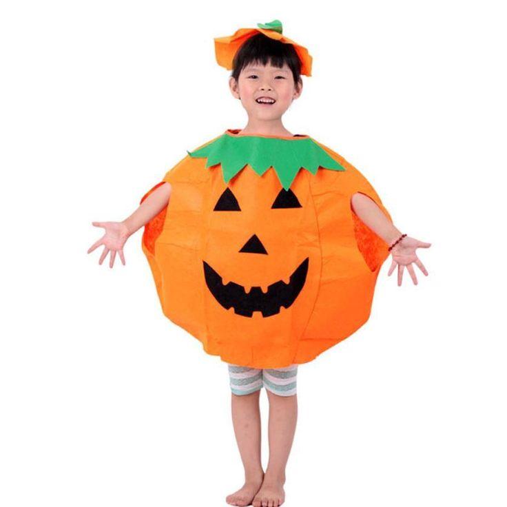 Party Supplies Pumpkin Halloween Costume For Kids Children Cosplay Costumes Amazing JL 20
