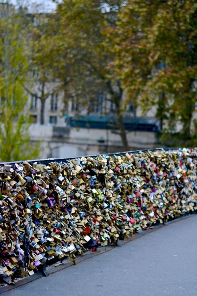 Love Lock Bridge | Paris, France  Sage + Sparkle