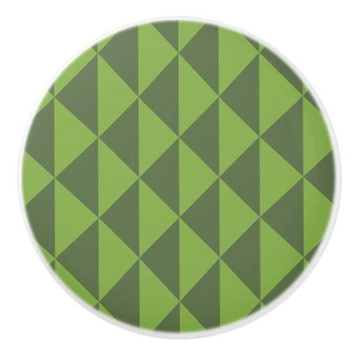 Green Kale Greenery Arrow Pattern Geometric