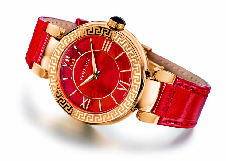 Discover the perfect passionate gift: the exclusive Valentine's Day edition of the iconic Leda watch. Every luxurious detail makes this item a truly #Versace statement. Find more unique watches on our website. #VersaceWatches
