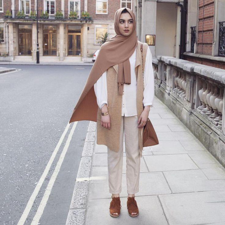 Spring nudes. Hijab Fashion