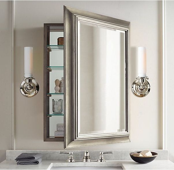 Bathroom Mirror Medicine Cabinets House Ideas In 2019