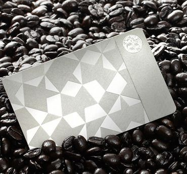 The First-Ever Metal Starbucks Card -