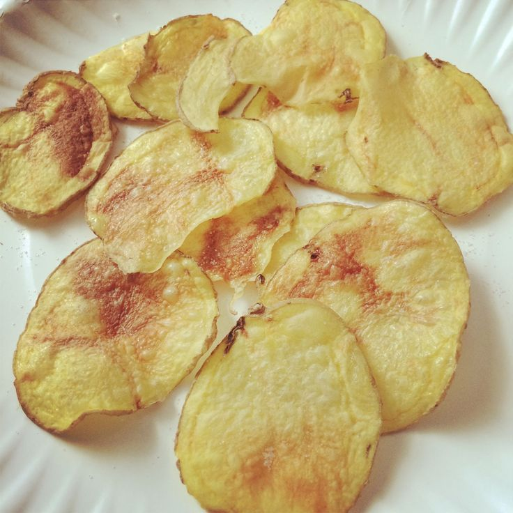 MICROWAVED POTATO CHIPS!! Only 3 WW Pts and is a Power Food!!