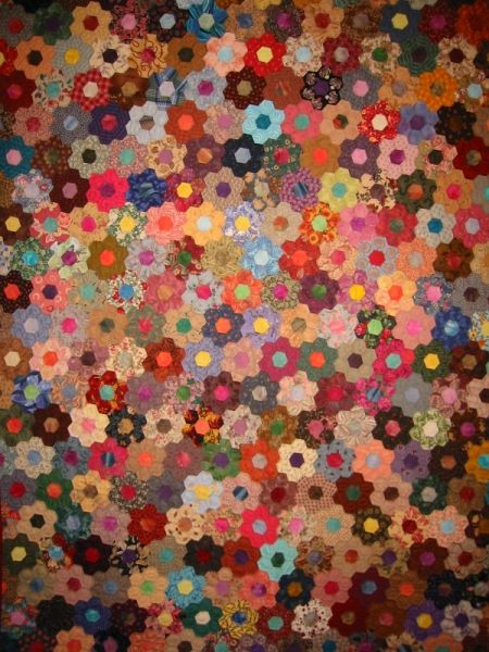 17 Best Images About Patch Hexie Quilt On Pinterest