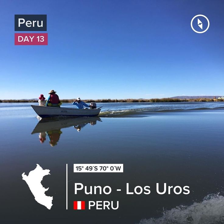 What an experience to sleep with a family on a floating island in Puno #losuros #peru