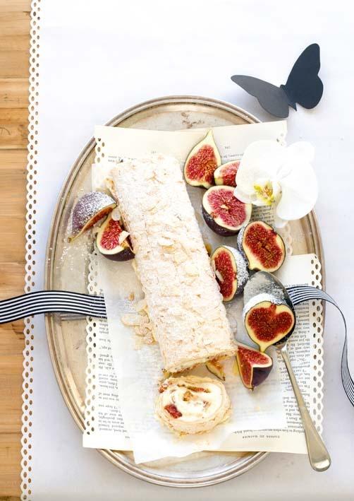 Ginger Fig Streusel Tarts With Honey Lavender Ice Cream Recipe ...