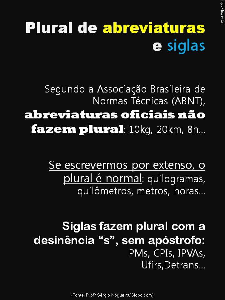 Jun/2015, por Renata J.   Fonte (dica): Profº Sérgio Nogueira/Globo.com
