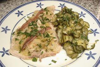 Pez espada al horno con calabacines (Pesce spada al forno con zucchine ) – Recetas italianas, recetas de cocina italiana en espanol