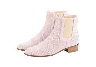Paperboy Pink Italian ankle boots