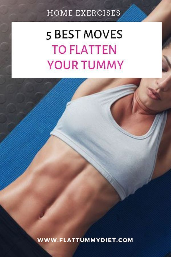 5 Best Exercises to Lose Belly Fat Fast and Flatten Your Tummy – #Belly #exercis…