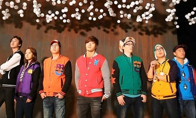 Korean Variety Show: Running Man.