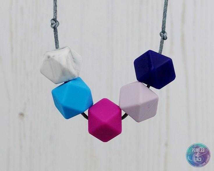 New York: Take Five Teething Necklace