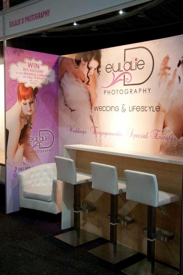 Our 2012 Wedding Expo Adventure!  Our stand!  / 1