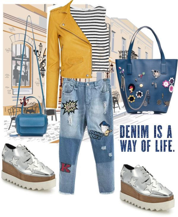 DENIM IS A WAY OF LIFE #CarlyBag & #AnaisBag from #RENA www.rena.ro
