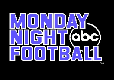 Monday Night Football!...Watched this with my Daddy every Monday night...credit my love of football today to this...Still love Monday Night Football:)