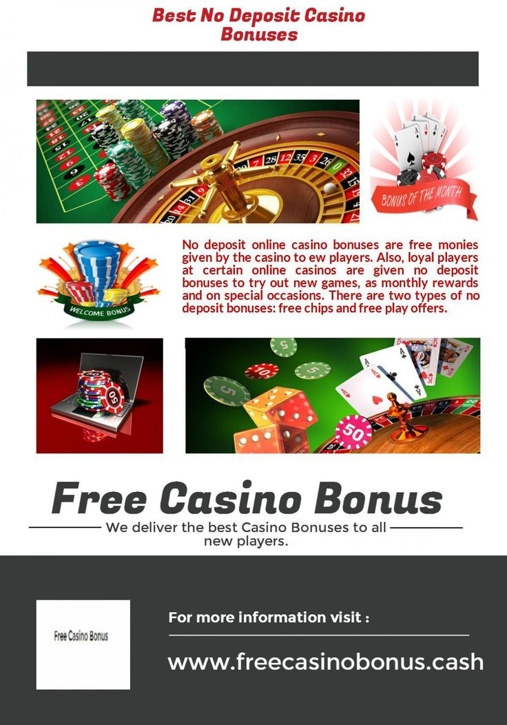 Free money bonus online casinos gamehouse casino slots plus