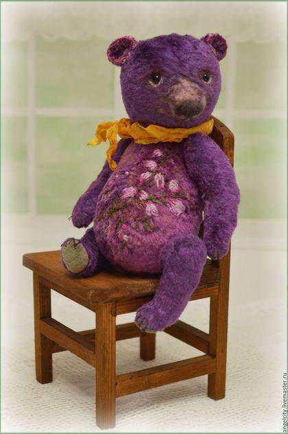 Teddy bear / Мишки Тедди ручной работы. Вересковый Мед мишка тедди. Наташа Милосская. Ярмарка Мастеров. Медведь тедди, теддик