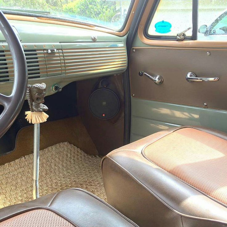 Chevy Suburban Interior Vehicles Interior Ideas Pinterest 54 Chevy Truck Truck Interior