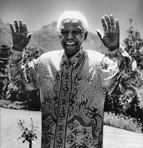 Nelson Mandela by Anton Corbijn