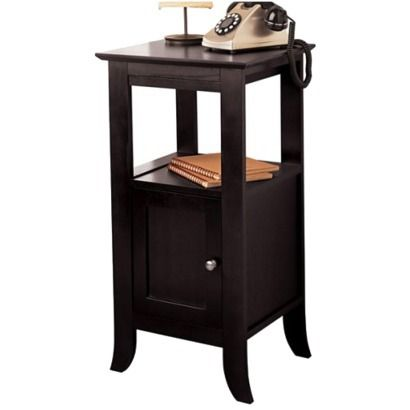 Dolce Dark Walnut Message Or Telephone Table On The