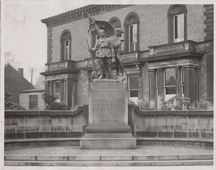 Regimental Memorial, Wrexham,
