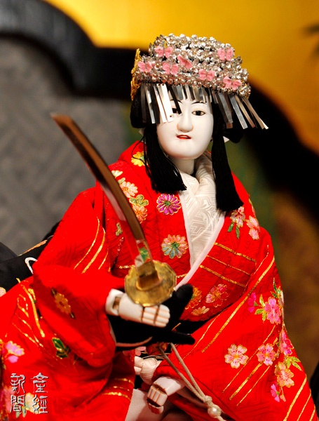 Bunraku Woman like   文楽 女方