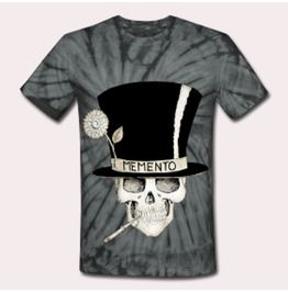 Voodoo Loa Baron Samedi Tie Dye T Shirt