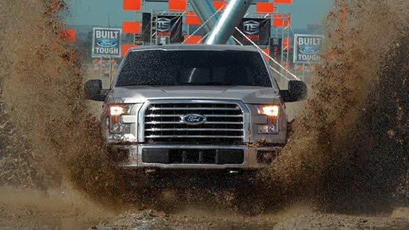 The Ultimate Game Changer – We run the new F-150 through an obstacle course worthy of some of football's top running backs.