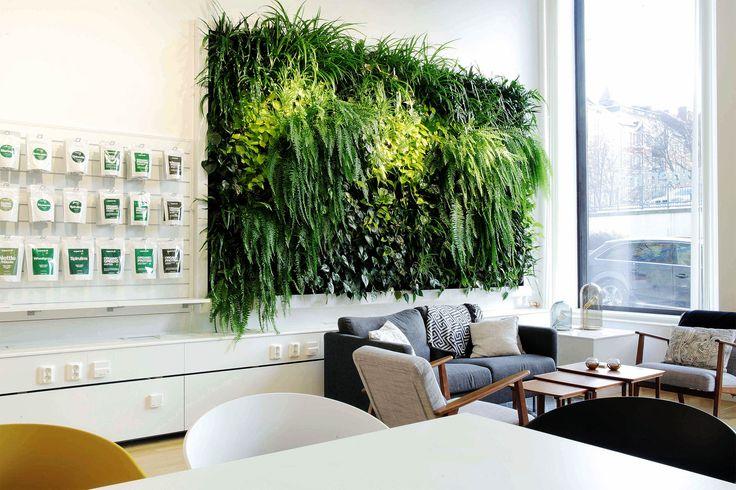 Greenworks' installation for Superfruit Showroom in Stockholm.
