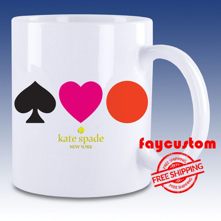 Kate Spade Logo Cool New Design White Mug Ceramic Coffee Tea Cup #Unbranded #Movie #Sport #Music #Band #Disney #Coach #Beauty #And #The #Beast #Style #Women #Men #Cheap #New #Hot #Milk #Rare #Best #Design #Luxury #Elegant #Awesome #Bath #New #2017 #Kid #Girl #Birth #Gift #Custom #Love #Amazing #Boy #Beautiful #Gallery #Couple #Best #Quality #Coffee #Tea #Break #Fast #Wedding #Anniversary #Trending