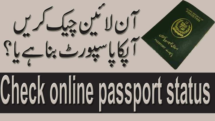 how to check pakistani passport status online | tip by take lecture in u...
