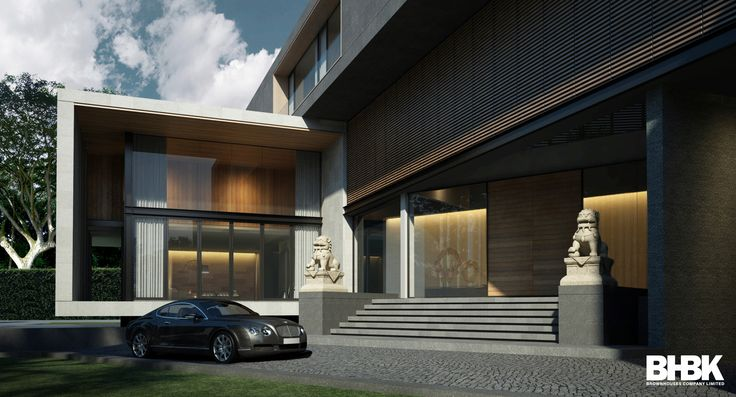 Private Residence  Area 3,500 Sq.m.  Design by : Korn BROWNHOUSES / BHBK www.brown-houses.com