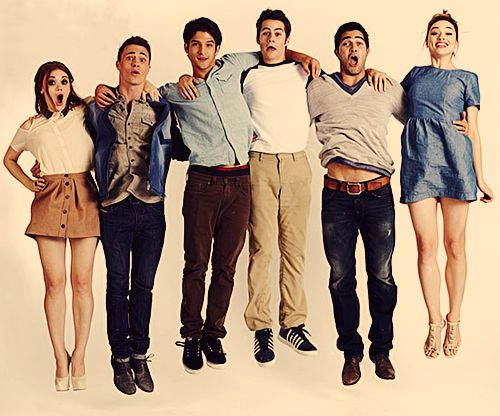Teen Wolf Cast <3 [Holland Roden, Colton Haynes, Tyler Posey, Dylan O'Brien, Tyler Hoechlin, & Crystal Reed]