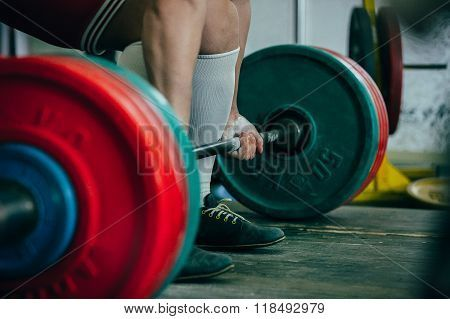 man of powerlifter competition